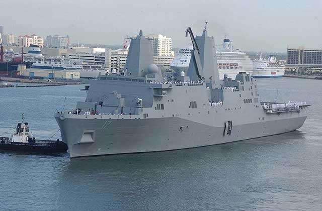 The-production-of-the-first-military-transport-ship-under-the-Flight-II-program-has-begun