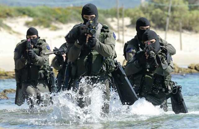 Top 5 best special forces in the world - sheyetet 13 israel