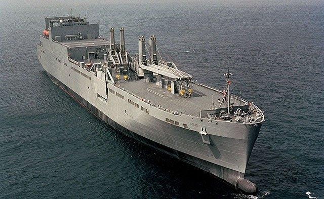 USNS-Watkins-landing-ship-heading-to-coasts-off-Venezuela
