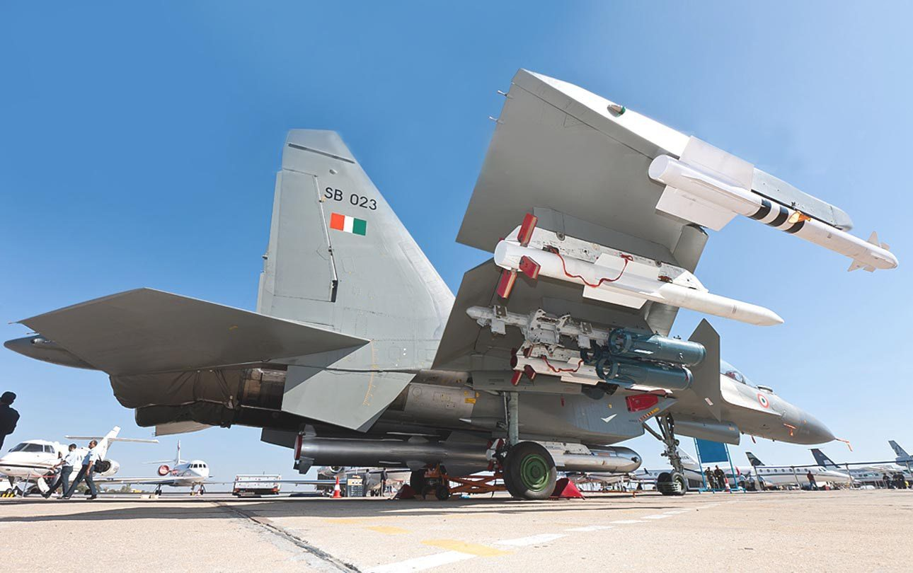 IAF-plans-to-Modify-40-Su-30MKI-To-Fit-Air-Launched-Version-Of-BrahMos-Supersonic-Cruise-Missile