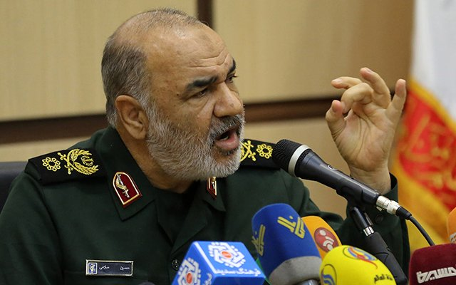 Iran-will-remove-'the-cancerous-gland'-Israel-from-the-region,-Salami-said