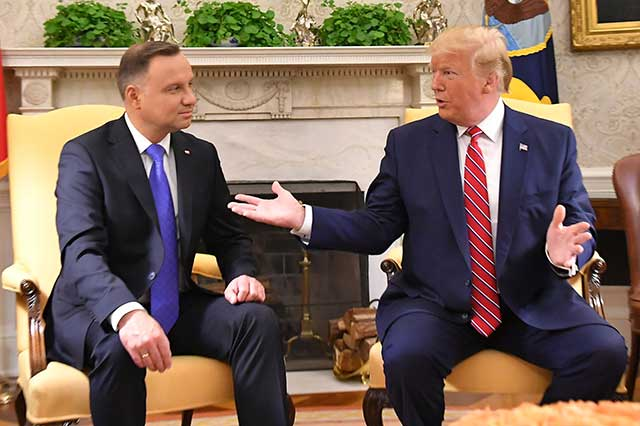 US-troops-are-welcomе-in-Poland,-the-Polish-Presidend-said