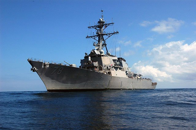USS-Porter-destroyer-approached-Russian-borders-and-came-under-close-control