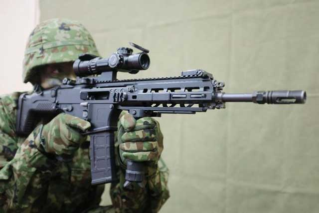 Howa-5.56—the-assault-rifle-of-the-Japanese-army-shrouded-in-mystery