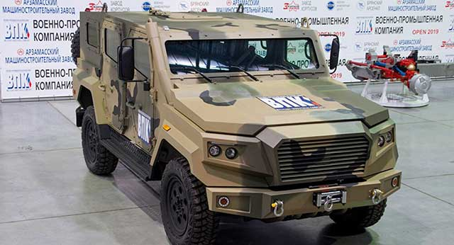 Russia-developed-a-light-weight-armored-vehicle-with-ballistic-and-mine-protection
