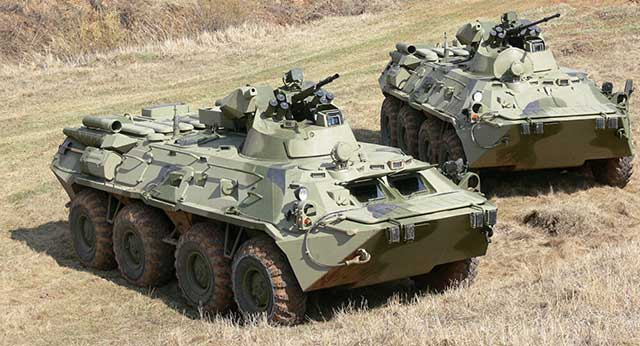 Russian-BTR-82A-vs.-the-American-Stryker-1126-armored-personnel-carrier