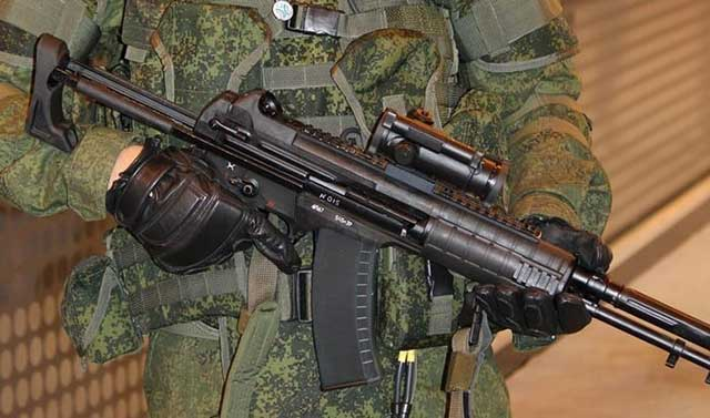 Russia's newest assault rifle goes into series production to face AK-74 legend