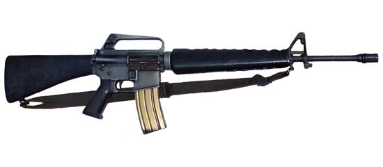 Top 5 infantry rifles of all time-m16