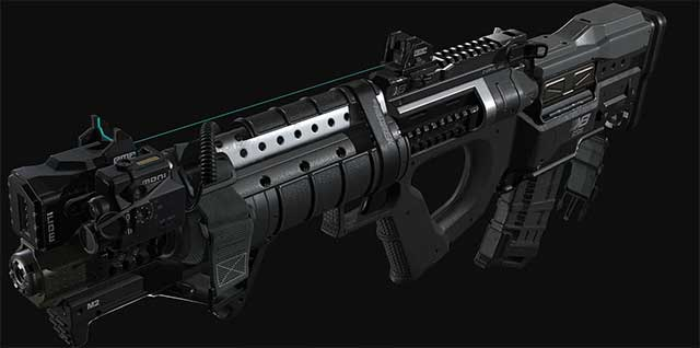 All weapons in Call of Duty Infinite Warfare (part 1)