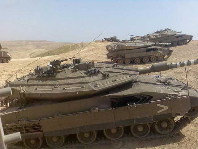 At-least-five-Israeli-Merkava-tanks-were-abandoned-on-the-Golan-Heights-[video]