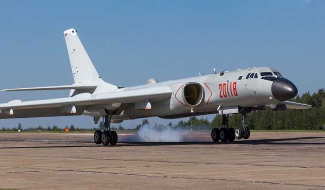 China-showed-a-new-bomber-to-protect-the-coastline