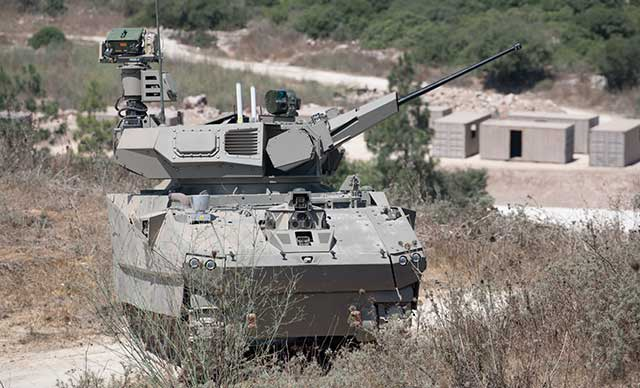 Israel-developed-a-battle-tank-operated-and-controlled-by-teens-with-Xbox-joysticks