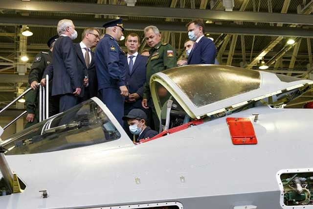 Russia showed almost assembled second production Su-57 fighter [photos]