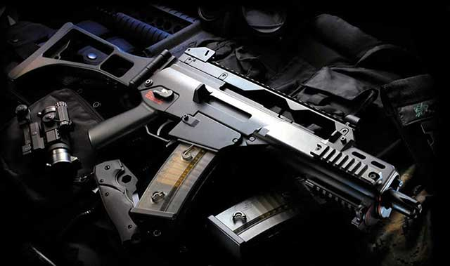 Flexible-assault-rifle-of-the-German-'blue-helmets'—Heckler-&-Koch-G36