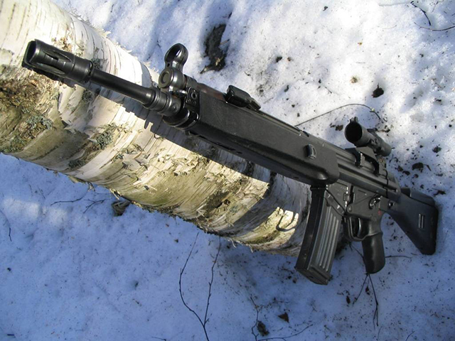 German-assault-rifles-Heckler-&-Koch-HK33,-G41-and-HK53