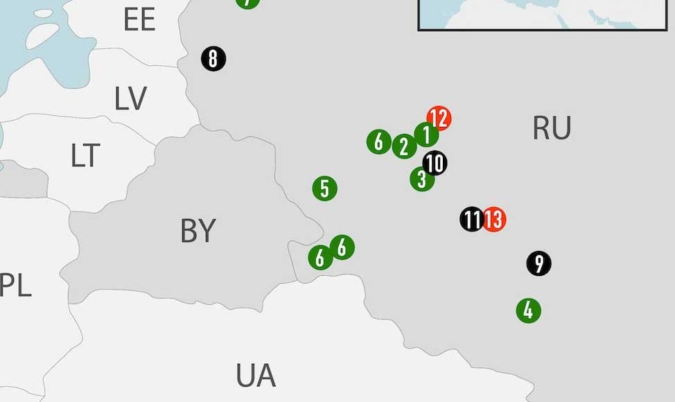 In-order-to-not-lose-influence,-Russia-could-send-military-forces-to-Belarus-[map]