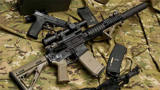 Top 5 best American assault rifles and machine guns in service with the US Marines