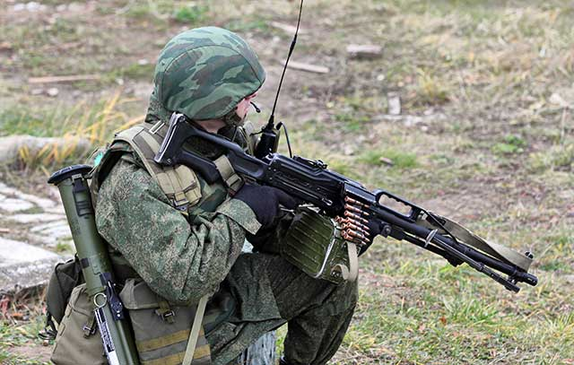 Top 5 of the most popular and good weapons in the Russian army for 2020-pkp pecheneg