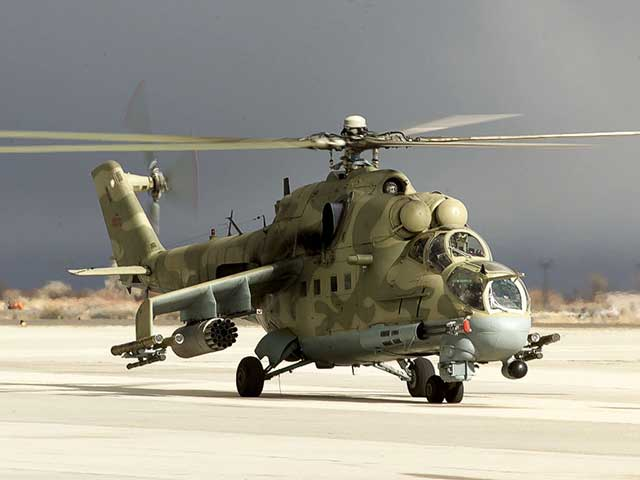 Azerbaijani-military-shot-down-a-Russian-helicopter,-the-pilots-were-killed
