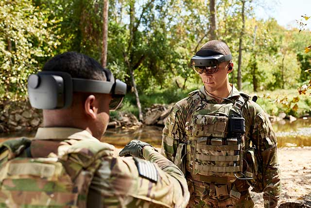 Future is here - augmented reality goggles are entering service in the US military