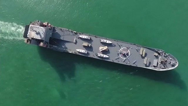 Iran-acquired-new-warship-carrying-helicopters,-UAVs-and-patrol-boats