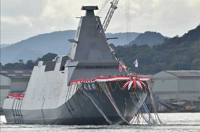 Next-generation-Kumano-stealth-frigate-is-now-part-of-the-Japanese-fleet