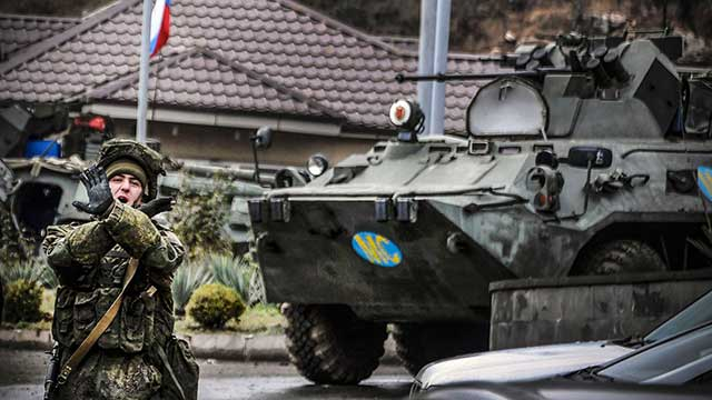 Russian-peacekeepers-came-under-heavy-fire-from-an-ambush-in-Nagorno-Karabakh