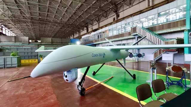 Ukraine-unveils-its-own-a-new-reconnaissance-and-strike-UAV-Sokol-300