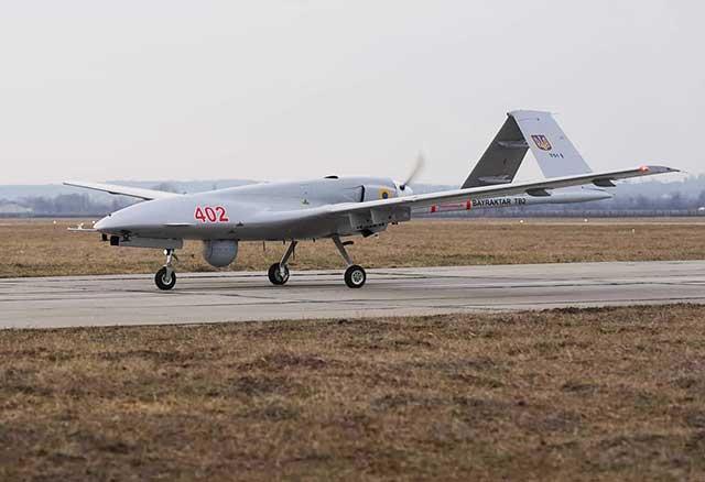 Turkey, Ukraine, Ukrainian-unmanned-aerial-vehicles-with-increased-control-range-bayraktar-tb2