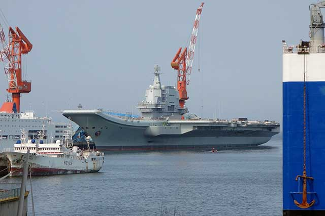 China-demonstrated-strength-by-sending-its-latest-aircraft-carrier-near-Taiwan