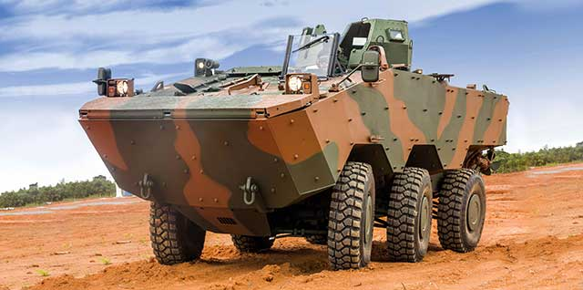 Philippines-receives-Brazilian-Guarani-6×6-wheeled-combat-vehicles
