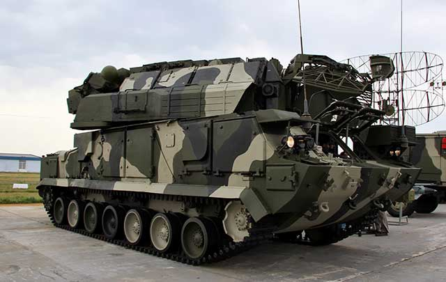Russian-Tor-M1-missile-system-repulsed-an-attack-of-drones-near-Chelyabinsk
