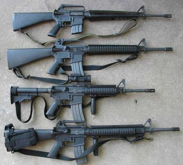 Top-5-best-assualt-rifles-in-the-world-in-2021-m-16-assault-rifle
