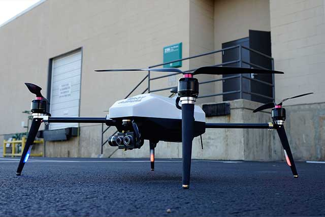 USAF-launches-robot-quadcopter-to-guard-a-military-air-base