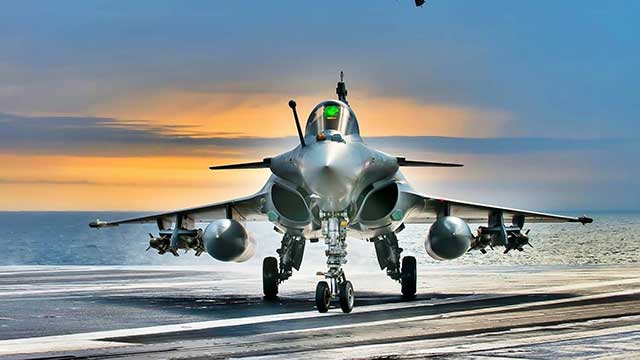 France bought new Rafales to replace the 'Greek' fighters