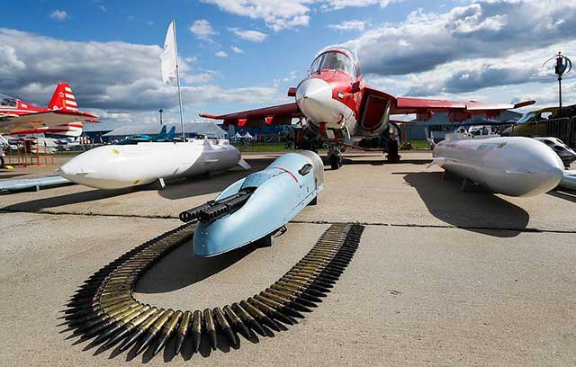 Rosoboronexpot's plans for the coming years are to maintain its competitiveness by providing foreign customers with at least 50 new types of Russian weapons.