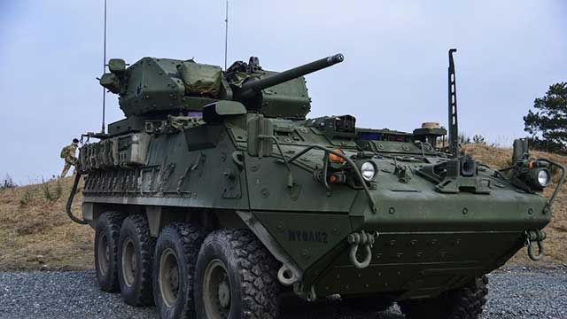 North Macedonia buys 54 Stryker armored vehicles for $210M