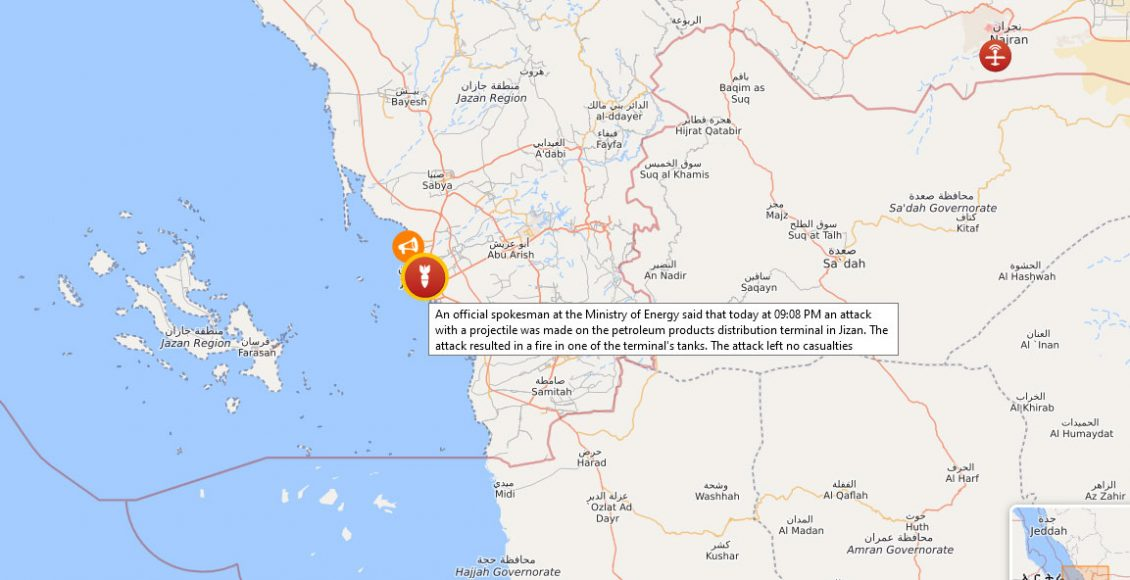 Saudi-oil-facility-again-attacked-by-Yemeni-Houthis-2