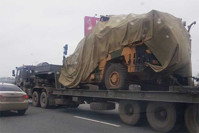 Turkish armored vehicle fell into Russian hands in Syria