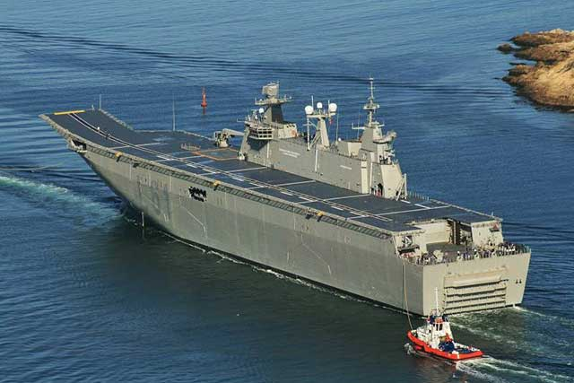 Turks have found a solution - an aircraft carrier for UAVs