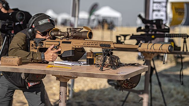 Awesome MK22 sniper rifle entered service in the US military