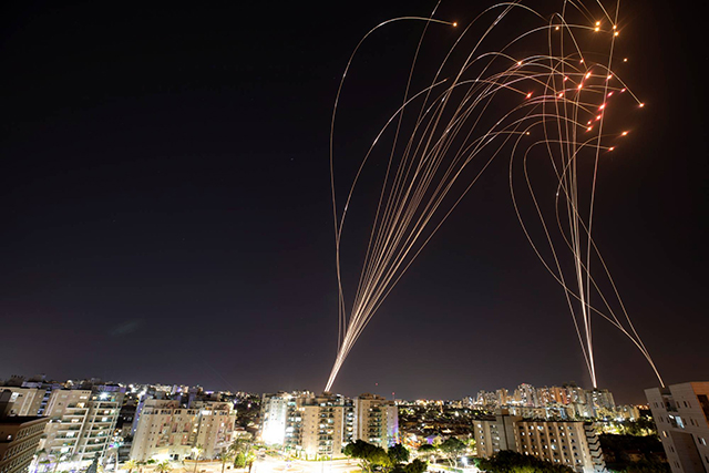 Sky over Israel - Iron Dome against Hamas rockets [Photos]