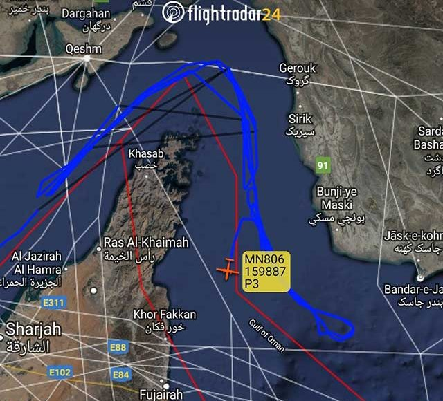 US-plane-in-Iran's-airspace.-Is-the-radio-signal-suppressed
