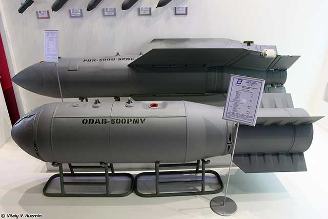 NI: Russian cluster bomb Drel is deadly against a moving enemy