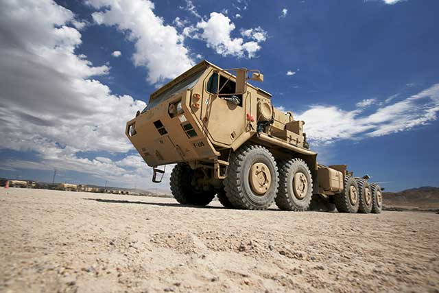 Hundreds of HEMTTs leave for the Middle East in a half-billion-dollar deal
