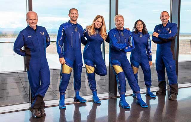 Watch live: VSS Unity launch the billionaire Richard Branson to space