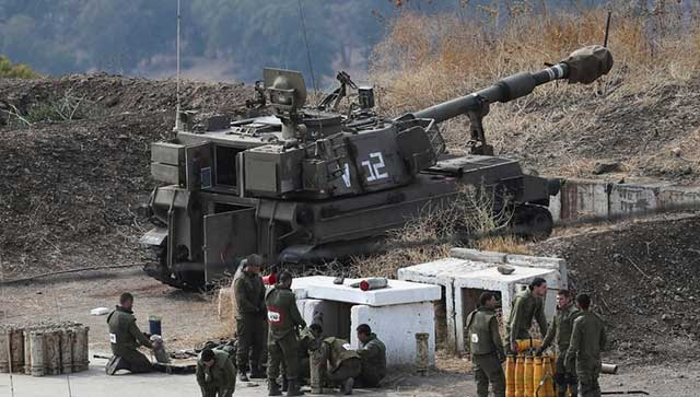 Artillery-and-airstrikes-from-Israel-on-Hezbollah-and-Hamas