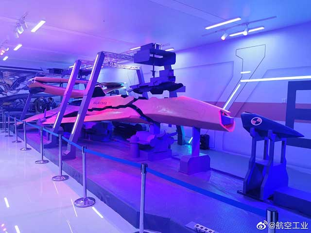 China unveiled a next-generation FC-31 stealth fighter