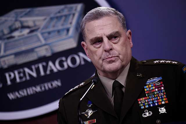 General Mark Milley: The Afghan war is a strategic failure for us