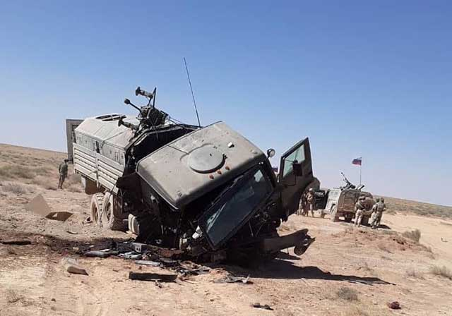 ISIS-attacked-a-Russian-convoy-in-Syria,-killing-a-Russian-officer